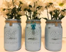 jar centerpieces for baby shower it s a girl baby shower decor painted pink jar