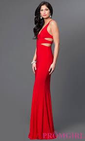 evening dress faviana v neck evening dress promgirl
