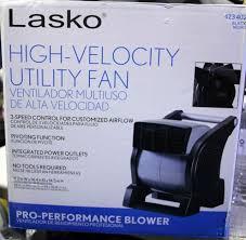lasko high velocity blower fan lasko 423402 high velocity utility fan 476809 n7 ebay