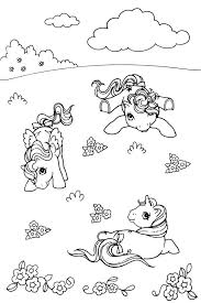 my little pony derpy coloring pages 46 best over the rainbow g1 in black and white images on