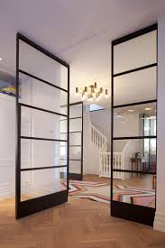 glass partition wall home design 1278