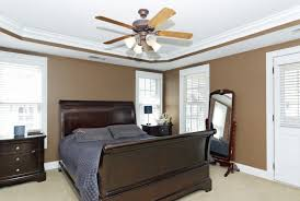 bedroom cool ceiling fans for modern design with recessed lighting