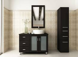 Vessel Sink Vanities Without Sink Decorative Modern Bathroom Cabinets Without Tops Using Black Paint