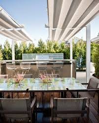 fantastic outdoor lighting ideas for second storey house design to photos hgtv outdoor dining space with shade screen and bar best office design design