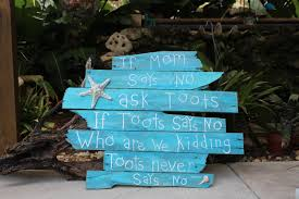 beach signs home decor pallet art quotes nautical decor outdoor beach signs home