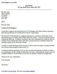 civil supervisor cover letter