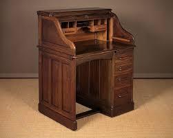 Small Oak Desks Small Oak Roll Top Desk By Lebus C 1910 Antiques Atlas