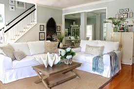 Chic Coastal Living by Furniture Slipcovers For Living Room Furniture Slipcovered