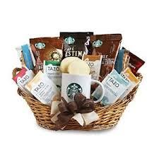 Gourmet Basket Starbucks Gift Basket Ebay