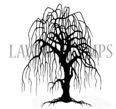 weeping willow tree individual design ideas