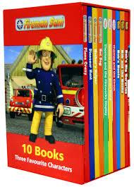 fireman sam bob builder thomas tank engine 10 books