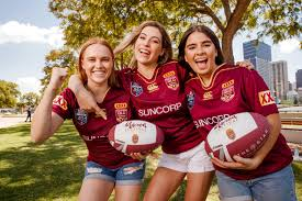 join in the at the maroon festival brisbane s state of origin