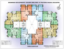 small apartment building floor plans