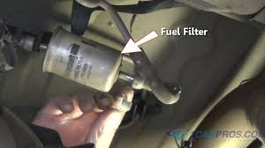 2005 toyota corolla fuel filter how to fix an engine hesitation in 30 minutes