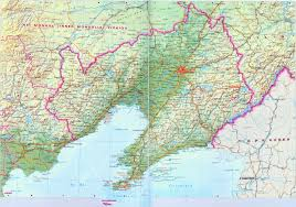 Rivers In China Map Liaoning Map Map Of Liaoning China China Travel Map