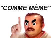 Comme Meme - sticker de tinnova sur faute francais enerve venere bnr nrv