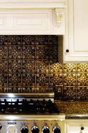 Tin Backsplash For Kitchen by Faux Tin Plastic Sheets Of Faux Tin At Lowes House Pinterest