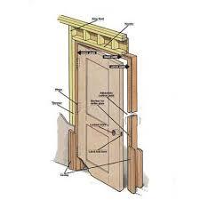 Replace Exterior Door Frame Homeofficedecoration Installing Exterior Door Frame