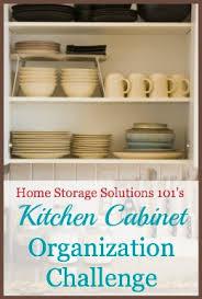 Kitchen Cabinet Organization Ideas Instructions For Drawers U0026 Kitchen Cabinet Organization