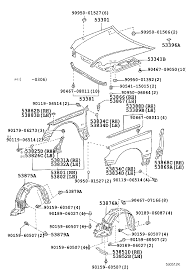 lexus gs300 parts japan lexus gs300 430jzs160r beaqfq body hood front fender japan