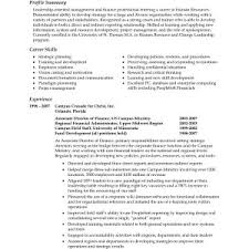 resume skills summary examples qhtypm cover letter