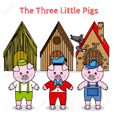 pigs big bad wolf clipart clipartxtras