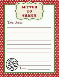 printable santa letters to santa letter to santa free printable download printable letters free