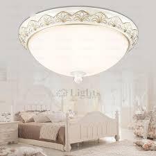 Glass Ceiling Light Covers 3 Light White Painting Glass Ceiling Light Cover