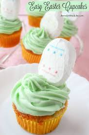 Easter Cupcake Decorations Easy by Easy Easter Cupcakes Recipe