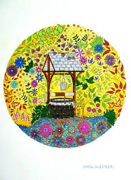 secret garden colouring book postcards 19 best my postcards and letters images on postcards