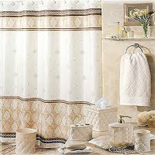 Shabby Chic Shower Curtain Hooks by Luxury Shower Curtains Amazon Com