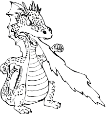 free printable dragon coloring pages kids fire breathing