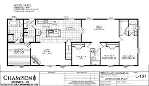 5 bedroom mobile homes floor plans champion modular homes floor plans