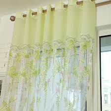 Green Sheer Curtains Amazing Of Light Green Curtains Designs With Light Green Floral