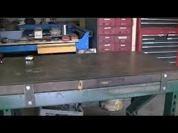 Welding Table Plans by What To Consider When Building A Welding Table Youtube