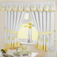 Blue Kitchen Curtains Kitchen Wonderful Modern Yellow Kitchen Curtains Sunflower Decor