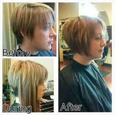 from pixie cut to bob with extensions added extensions to help grow out pixie cut hairs n cuts