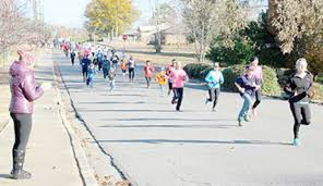 cure jm turkey trot set for thanksgiving day daily mountain eagle