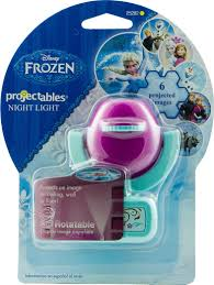 amazon com disney projectables frozen led plug in night light