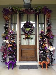 Halloween Wreath Ideas Front Door Decorating Your Front Door For Halloween Doors By Design