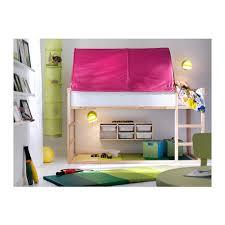 KURA Bed Tent Pink IKEA - Ikea bunk bed kura