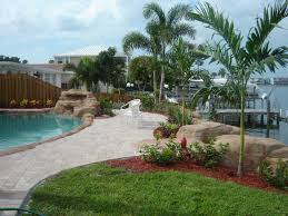 Landscaping Around Pools by Landscaping Around Pool Ideas Round Designs