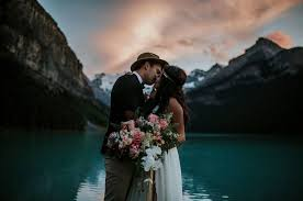 wedding shoes calgary lake louise elopement featured on greenwedding shoes lake louise