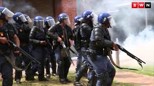 stun grenades rubber bullets and tear gas at uwc youtube