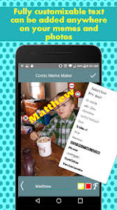 Custom Meme Maker - comic meme maker funny meme generator android apps on google play