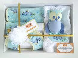 chagne gift set baby shower gift set owls bib change mat washer burp cloth