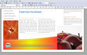open office brochure template how to make a brochure in open