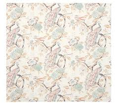 everly peacock duvet cover u0026 sham pottery barn