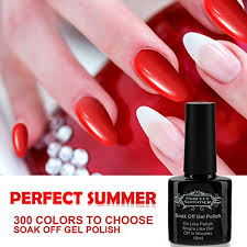 perfect summer uv led soak off gel nail polish shiny glitter