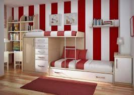 Beds With Bookshelves Bed Ideas Cool White Teen Bunk Beds Design With Orange Curtain